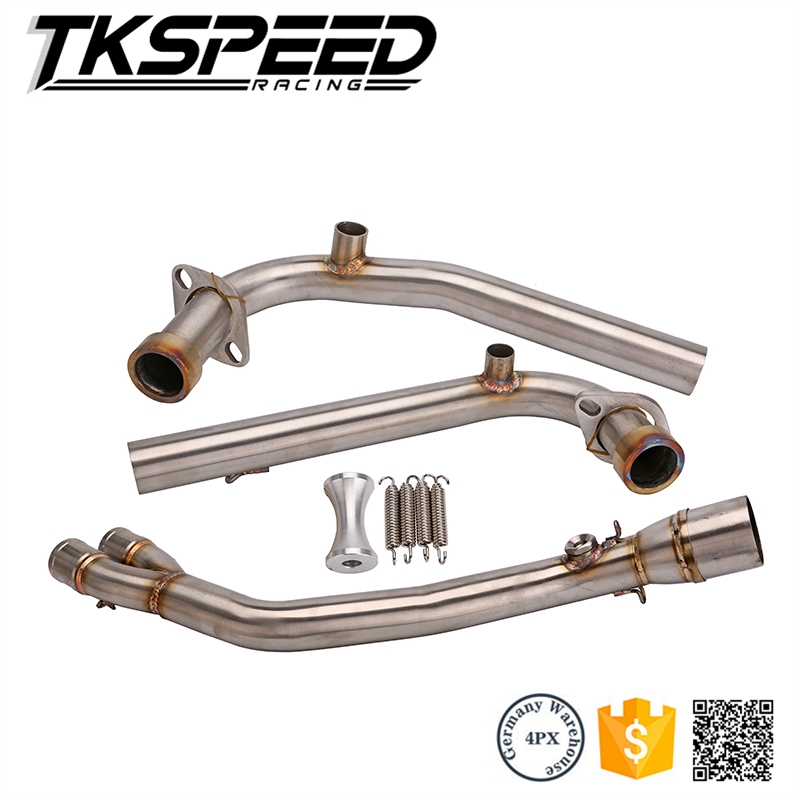 Motorcycle Exhaust Full system FOR Yamaha Tmax 500 530 2008-2016 without exhaust