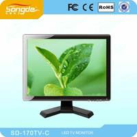 Flat Screen High Definition 17 19 Inch LED LCD TV With 12V