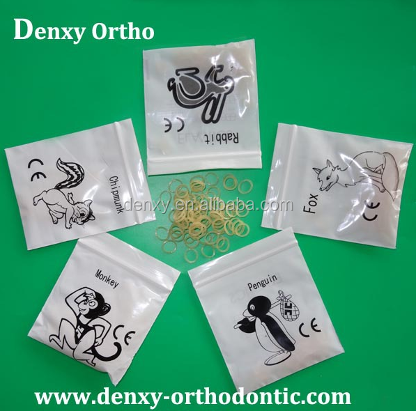 Denxy Dental Orthodontic Rubber Band/Elastic Rubber Band