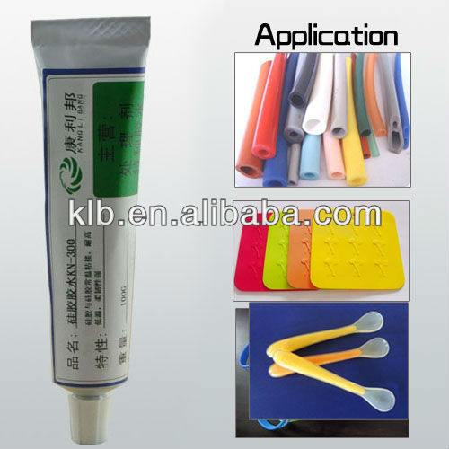 RTV adhesive for concrete and metal silicone caulk