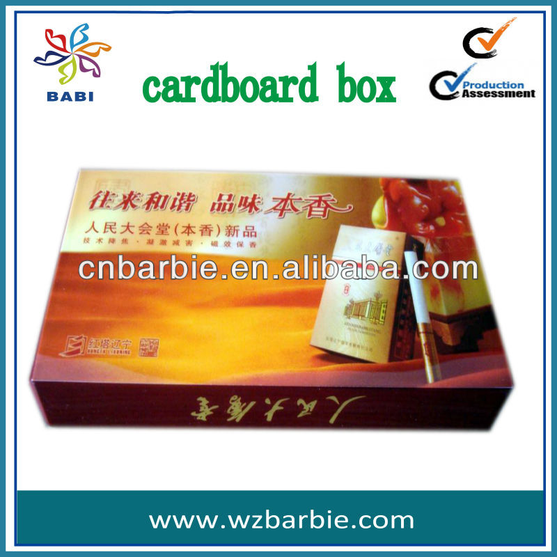 PDQ display cardboard box gif packaging box