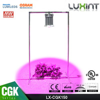 UL Listed LUXINT high bay led grow light actual 150w full spectrum led grow light for medical plants