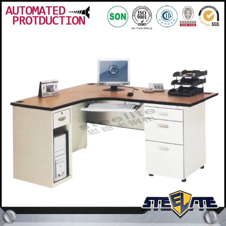New design cheap computer desk,metal frame computer desk,stainless steel office desk