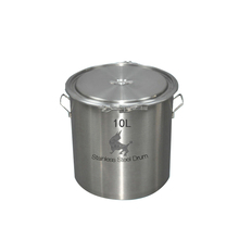 stainless steel food grade storage bucket