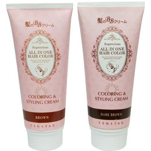 Non toxic Hair color cream made in Japan suitablf for sensitive head skin