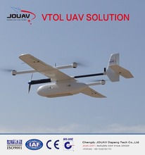 land surveying equipment by VTOL unmanned aircrafts