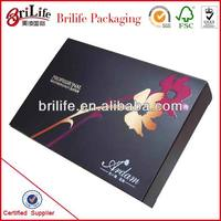 Fancy Black Cosmetic Packaging Wholesale In China