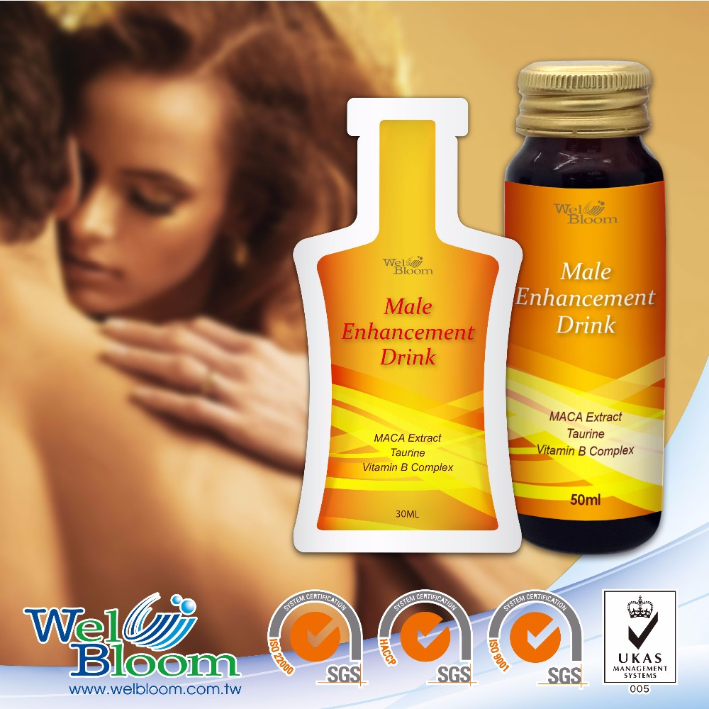 Private Label Herbal Extract Erectile Enhancement Drink
