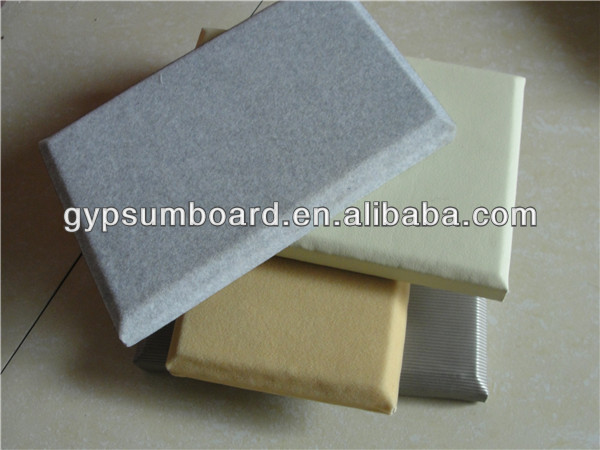 fiberglass board /Sound Reducing Home Theatre /Acoustic Panel can be used in Nightclub Interior