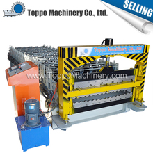 High speed customized professional roof pannel machine