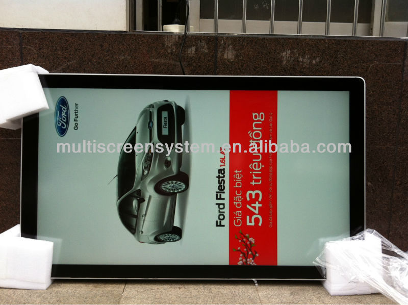 65inch network outdoor water proof lcd sample of advertisement product