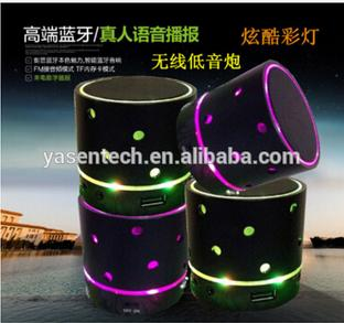 S61U bluetooth led lamp speaker Portable Wireless Bluetooth Speaker Mini Stereo Speaker