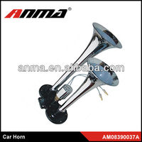 Auto electrical system pressure horns for cars