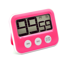 Battery operated digital kitchen timer with magnet Count down alarm function
