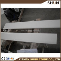 china high quality white polished marble door threshold design for interior project