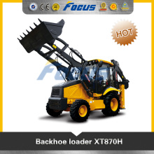 tractor backhoe with 4 in 1 bucket for sale