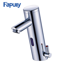 Fapully UPC Bathroom Faucet Automatic Shut Off mixer tap Bathroom Faucet Sensor Taps