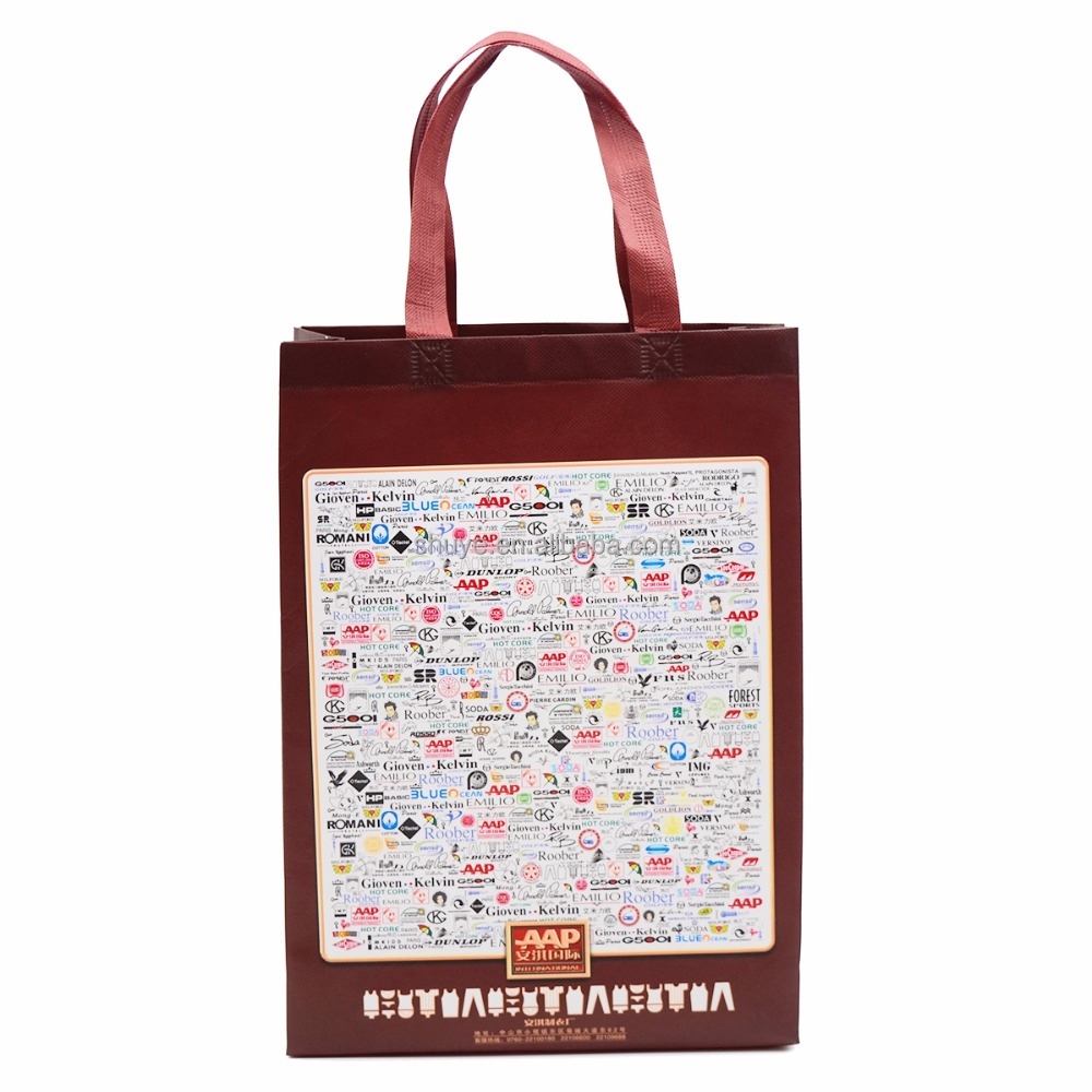 Customized Polypropylene Woven Shopping Bag
