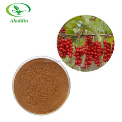 Hot Selling High Quality Schisandra Chinensis Fruit P.E. / Schisandra P.E. / Schisandra Berry P.E.