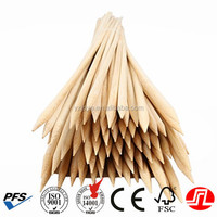 5mm high quality healthy Bamboo Skewers for BBQ and mashmallow