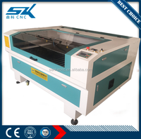 100W multi function wood, fabric, leather engraving and cutting laser co2 laser machine price