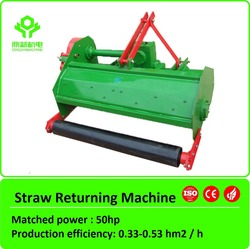 50hp rice wheat corn field straw chopper for sale