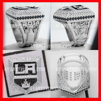 Hot sale New design stanley cup championship ring, 2014 LA kings ICE Hockey champions ring