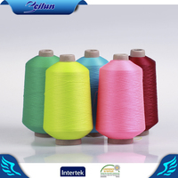 Hot sell filament ring spun dyed nylon yarn for knitting and hosiery