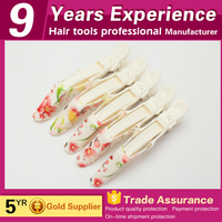wholesale Professional salon plastic alligator hair clip