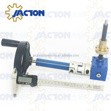 high quality light weight worm gear manual lift mechanisms 5kn lightweight hand crank jack and custom machine screw actuators