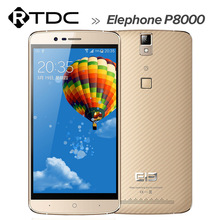 Factory Price Elephone P8000 Mobile Phone 5.5'' FHD Android 5.1 MTK6753 Octa Core 3GB RAM 16GB ROM Fingerprint ID