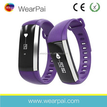 Bluetooth 4.0 Waterproof Smart Wristband Bracelet Heart Rate Monitor Smart Bands Suitable for Android and iOS phones