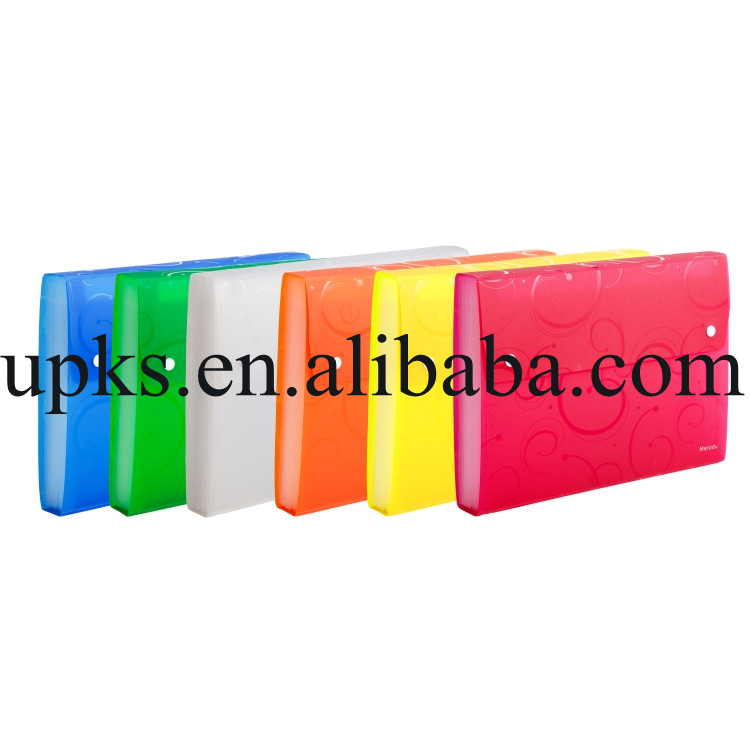 New design plastic car manual file holder for interview
