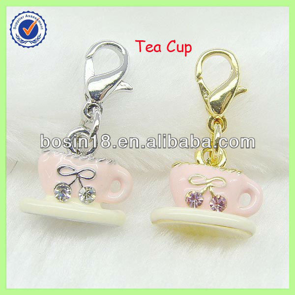 Hot Sale Chinese Tea Cup Charm #14706