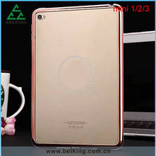 Tablet TPU Cover For iPad Mini, Clear Transparent Cover For iPad Mini 1/2/3 With Plastic Bumper