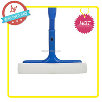 SY3126 2015 New product Glass window silicone squeegee with stainless steel rubber spongia material