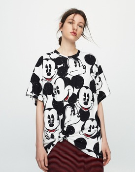 2017 Cotton Print Micky T-Shirt