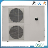 BB3I-160S 7.0-19.6kw 3.25-4.78cop 380v 50C dc monobloc inverter heat pump water heater