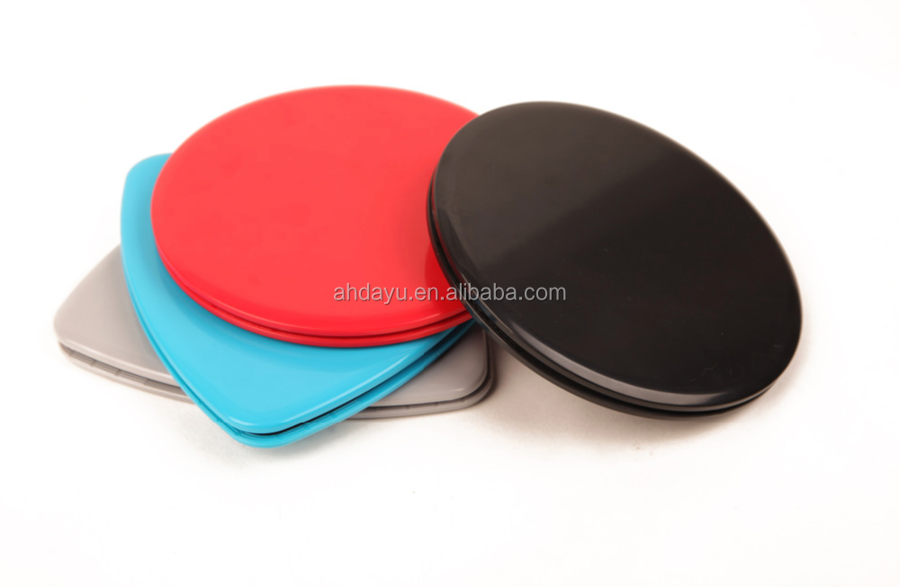 Core Exercise Sliders - 2 Dual Sided Gliding Discs for Carpet and Hard Floors
