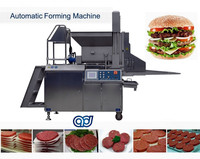 fish chicken beef steak Sandwich patty Hamburger forming machine