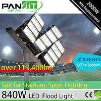 840W High Power LED Sport Field Light for 2KW MH Replacement