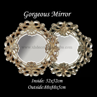 Co-co apartment gorgeous Venetian mirrors decorative plastic mirror frames