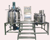 300L fixed-type cosmetic cream emulsion plant, gel making machine