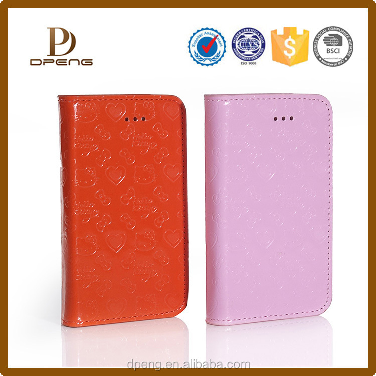Best selling China Shenzhen factory mobile phone shell leather universal flip phone case