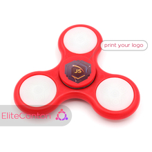 2017 Hot sale led stress bearing spinner fidget toy/fidget cube /hand spinner toys LED Fidget Spinner Finger Fingertip Gyro Spin