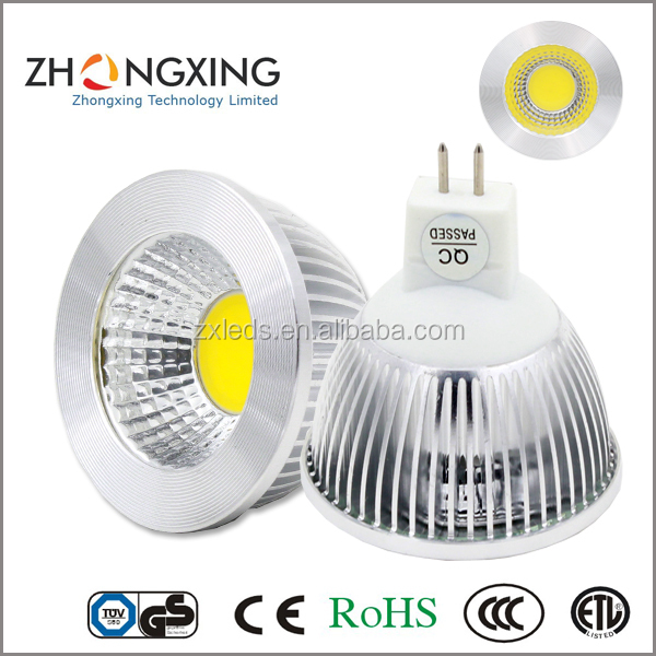 mr16 gu10 casing,LED commercial lighting 5W COB MR16 GU10 led Spotlight