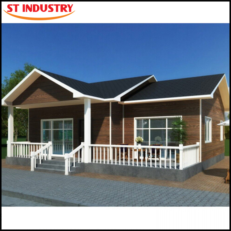 High quality european style easy install steel prefabricated houses