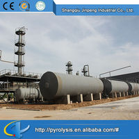 Beautiful Hot Sale Continuous waste tyre recycling production line