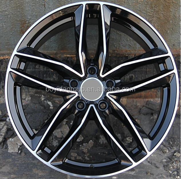Replica Rims, 5 hole car alloy wheel rim made in china
