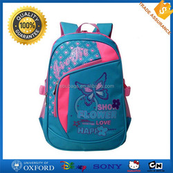 Durable Unisex School Backpack Waterproof Polyester Kids School Bag Backpacks